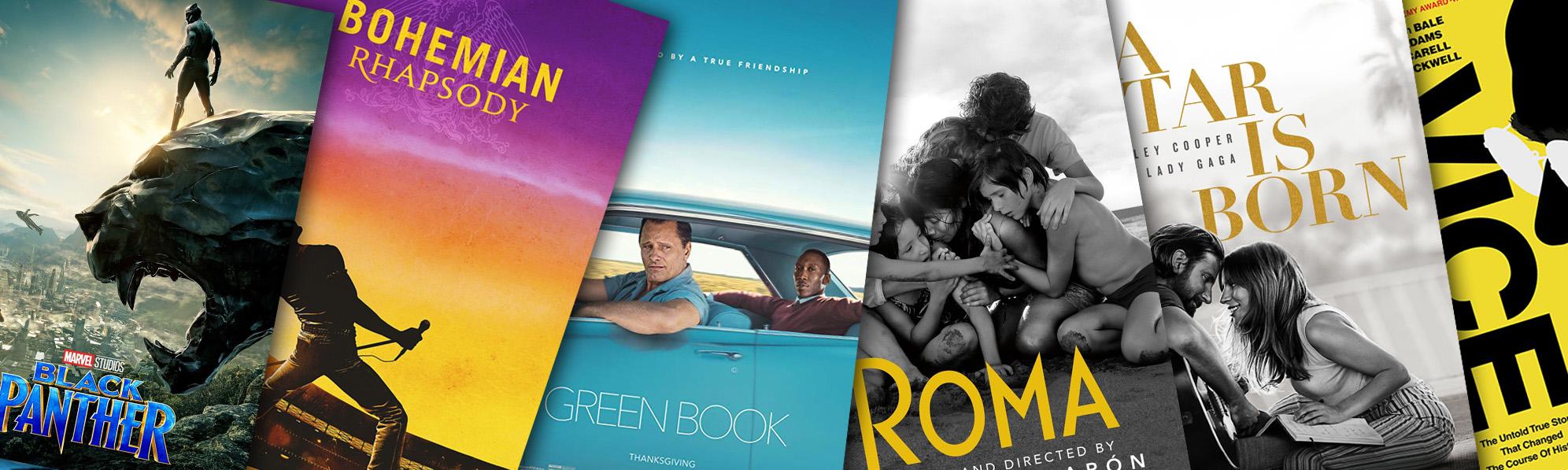 Las películas nominadas para el premio Óscar 2019
