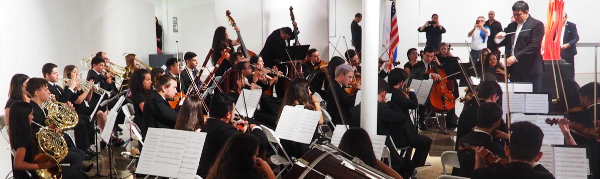 La Orquesta Juvenil del SODRE deslumbró en Miami