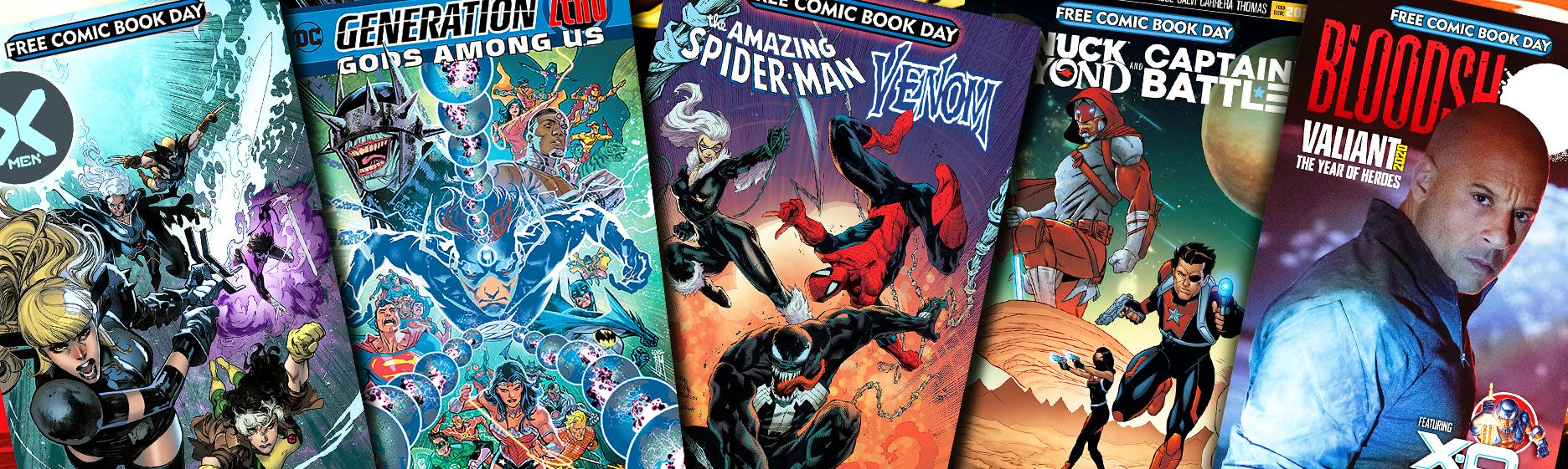 El verano de los comics gratuitos