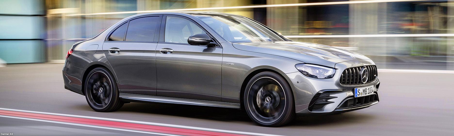 Mercedes-Benz E-Class sigue a la vanguardia de los vehículos de lujo